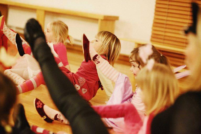 otroci in starsi vadba