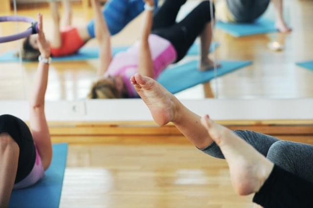 pilates skupinske vadbe ljubljana