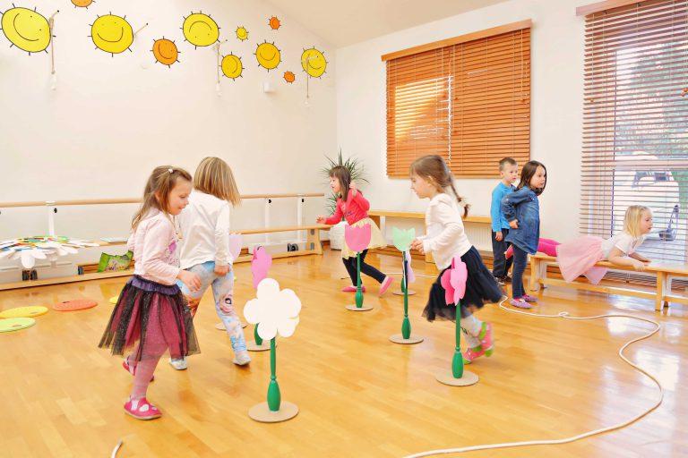 vadba za 2 letne otroke