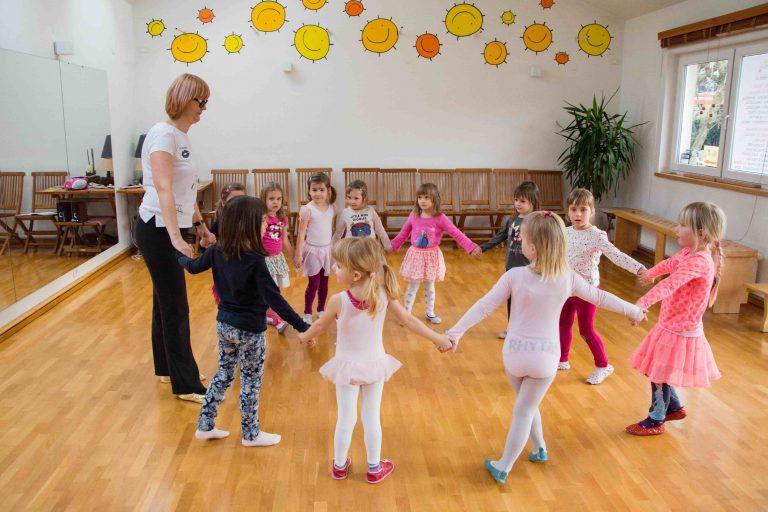 ucenje plesa za otroke