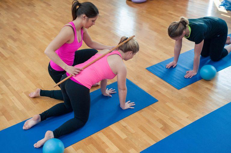 vadba za hrbtenico za starejse